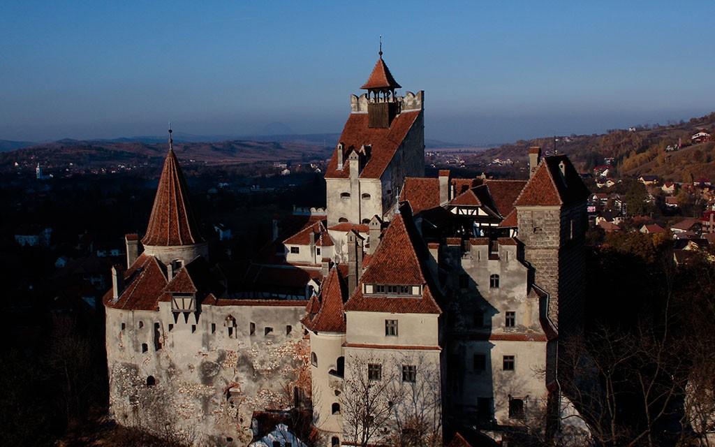 замок графа дракулы фото в румынии